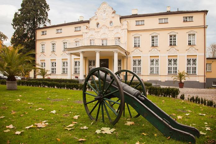 Pałac Witaszyce Wirtualna Wycieczka