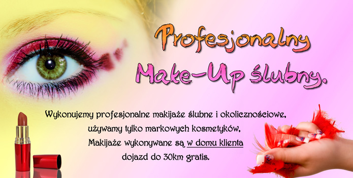 Make up slubny